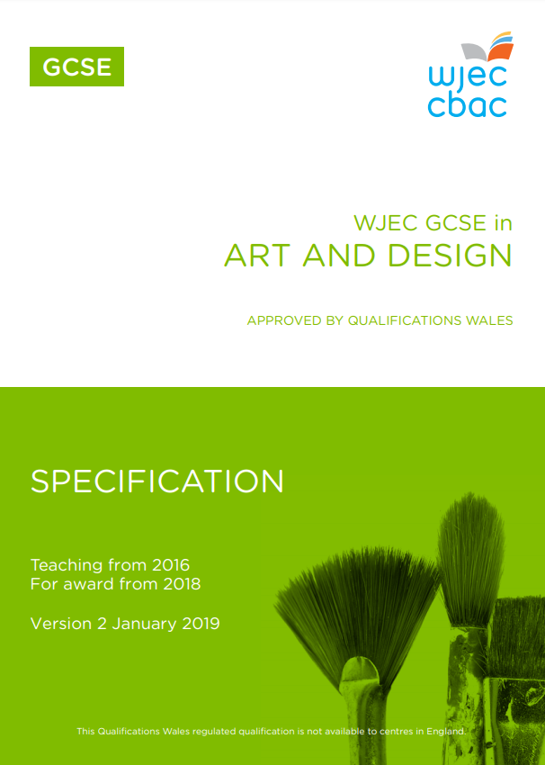 GCSE Art and Design Specification