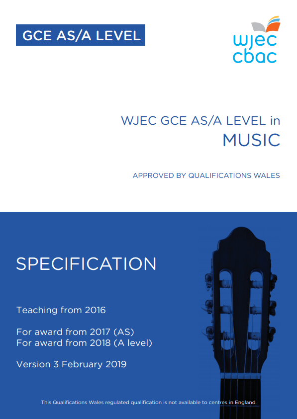 AS/A Level Music Specification