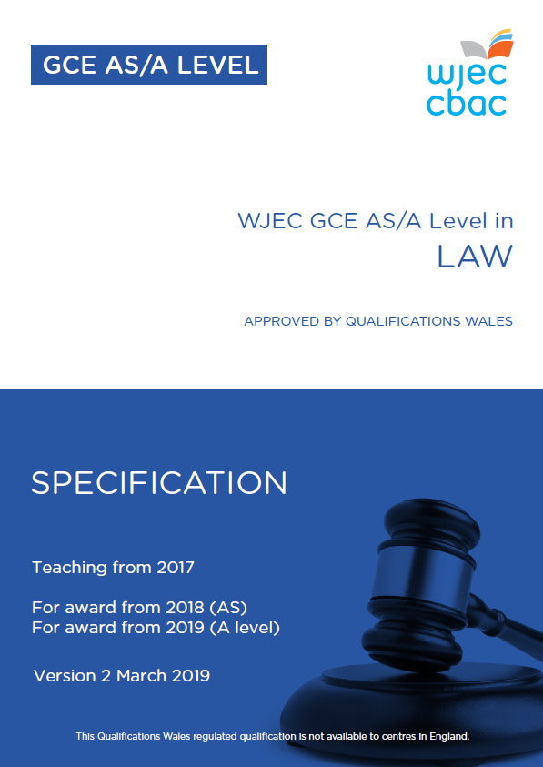 A/AS Level Law Specification