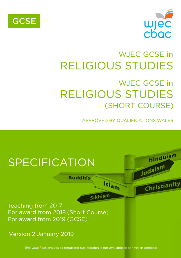 GCSE Religious Studies Specification