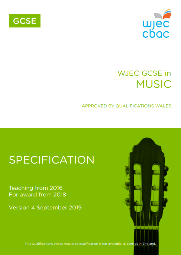 GCSE Music Specification