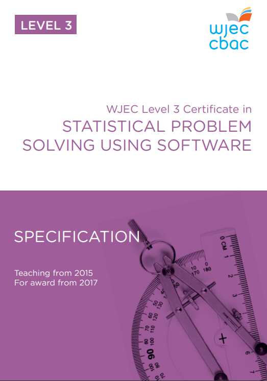 Level 3 Statistical Problem Solving Using Software Specification