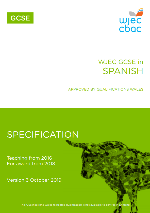 GCSE Spanish Specification